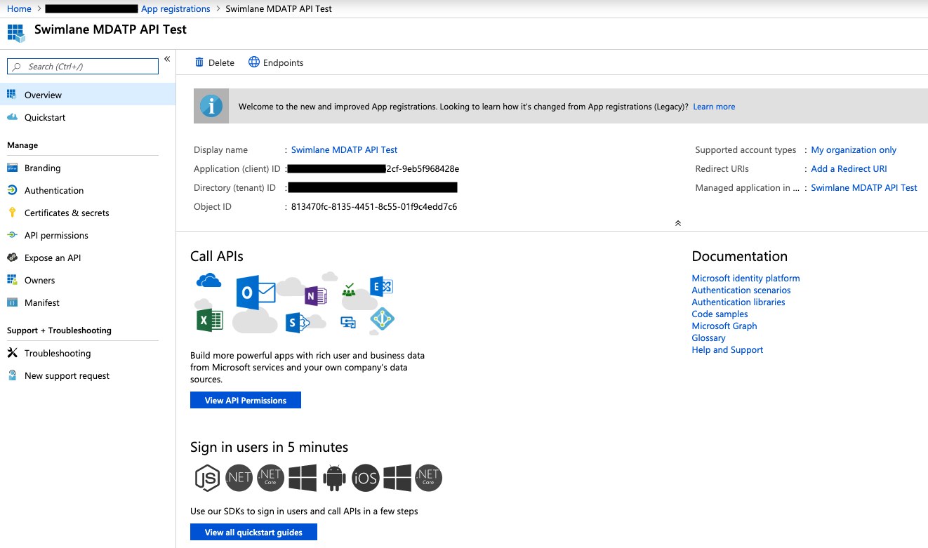 Running queries on Microsoft Defender Advanced Threat Protection