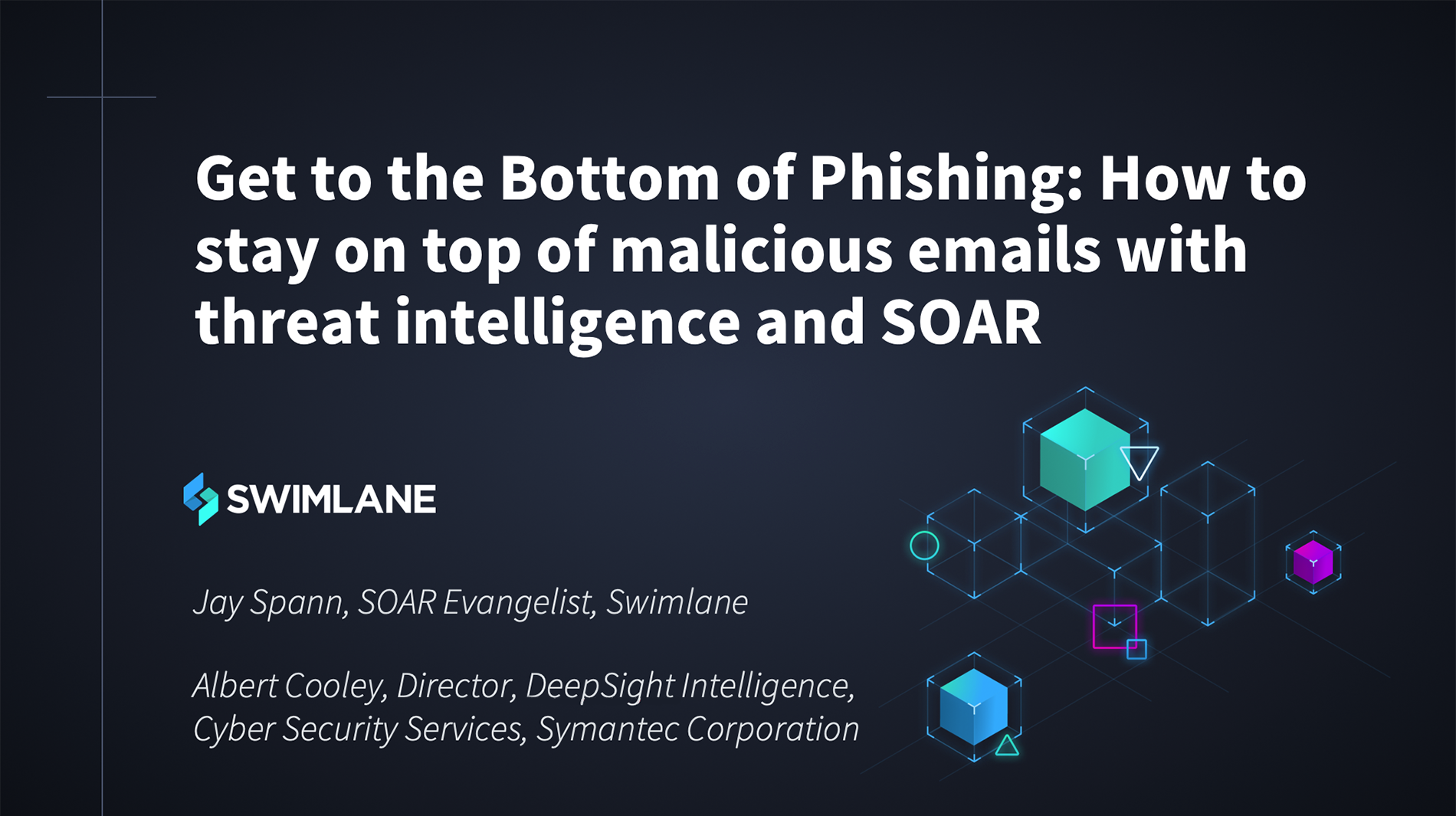 Staying on top of phishing emails with threat intelligence