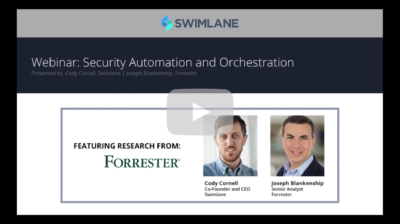 Security Automation and Orchestration featuring Forrester (1:01:41)