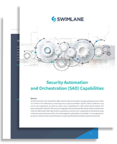 Security Automation and Orchestration Capabilities e-book