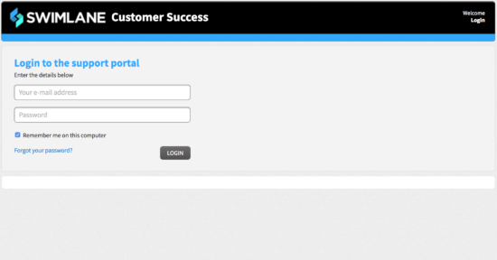 Swimlane Customer Success Screenshot